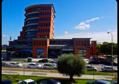 Jardines edificio nudo norte Sevilla